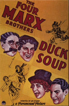 Duck Soup movie poster, 1933