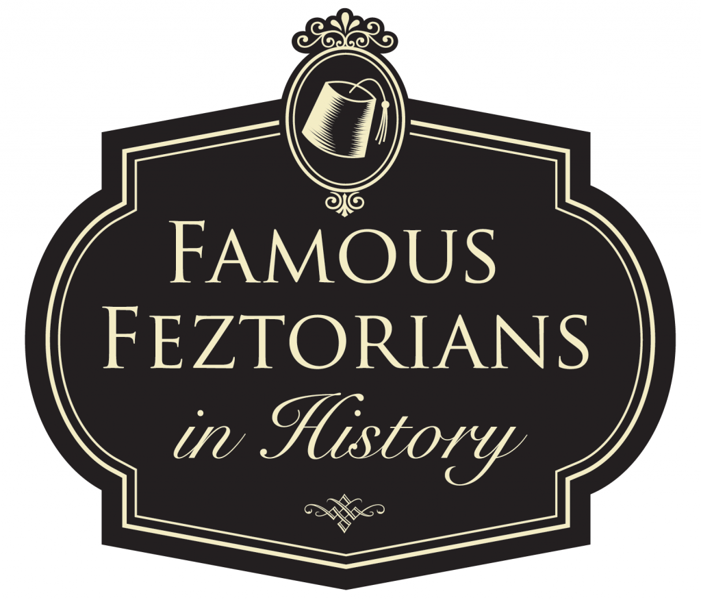 """Famous Feztonians in History"" logo by Dave Metzger"