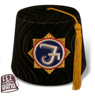 2014 Freedonia Fez  (Black with gold tassel)